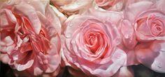 Abundant - Oil on linen by Lyn Diefenbach Romantic Artwork, Pink Painting, Still Life Flowers, West Art, Garden Painting, Creative Artwork, Still Life Art, Arte Floral, Pastel Art