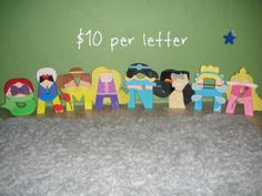 Disney Princess Character Letter Art by GunnersNook on Etsy, $10.00