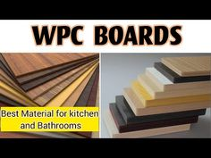 Wpc Board | Price | Complete Product Information in Hindi - YouTube Ourselves Topic, Product Information, Boards, Planks