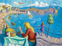 My favorite artist, Arthur Orum of St Ives