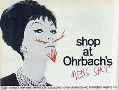Original and breaker ad for Ohrbach's account from DDB - PHYLLIS ROBINSON