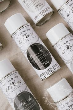 Ever wanted to spray on your chalk mineral paints? Here we make it easy for you.  Introducing a new collection of Paris Flea Market colors. So easy to use.