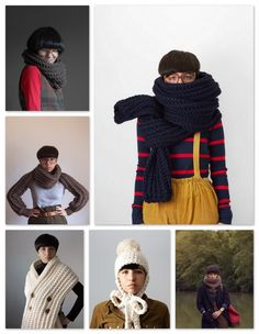 Looking for ideas for a hand knit product site.  I'm really liking the styles here...