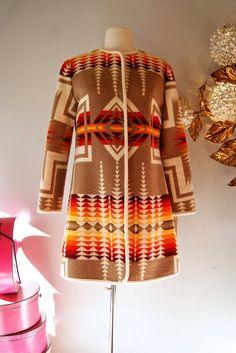 Vintage Pendleton // Vintage 60s Chief Joseph Young Pendleton Ladies Jacket RARE on Etsy, $248.00