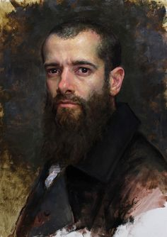 Cesar Santos, a self-portrait I believe.