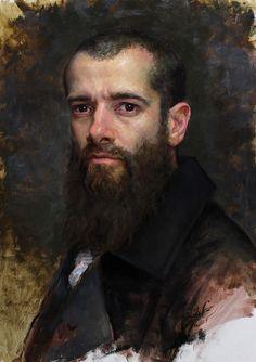 Cesar Santos, a self-portrait I believe.