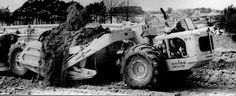 LaPlant-Choate's star offering in 1946 was the TS-300 motor scraper which held 18 cubic yards heaped and could get along at a respectable 22mph, its hydraulic steering preventing jackknifing. Power was provided by Buda or Cummins.