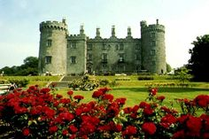 Kilkenny Castle in Irland. My ancestors lived here and I'd love to see it one day Oh The Places You'll Go, Places To Travel, Places To Visit, Kilkenny Castle, Castles In Ireland, English Castles, Le Palais, Ireland Travel, Dream Vacations