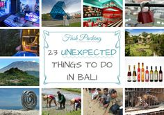 Sick of temples? Done with the beach? Sipped enough cocktails? Bali has so much more to offer. My 23 unexpected things to do in Bali is a great place start!