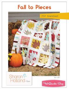 Fall to Pieces Downloadable PDF Quilt PatternSharon Holland Designs | Fat Quarter Shop