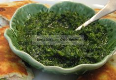 Chimichurri Sauce If you've never tasted Chimichurri sauce, you're in for a real treat. The intense delicious herb flavors and garlic go so well on grilled meats, seafood, in quesadillas and all sorts of Mexican foods. Primal Recipes, Clean Recipes, Veggie Recipes, Mexican Food Recipes, Low Carb Recipes, Cooking Recipes, Healthy Recipes, Ethnic Recipes, Mexican Dishes