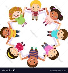 Children holding hands in a circle Royalty Free Vector Image Children Holding Hands, White Potatoes, Good Foods For Diabetics, Kinds Of Salad, Unique Recipes, Eating Plans, Fruits And Veggies, Potpourri, Diabetic Recipes