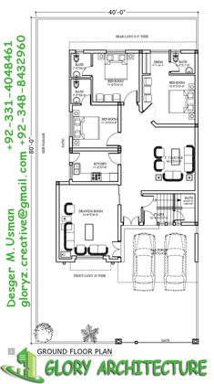 house plan, Pakistan house modern house plan We are providing services modern house design at your different size of plot in Islamabad and Islamabad surroundin… Two Story House Design, 2 Storey House Design, Modern House Design, House Map, Duplex House, Town House, Model House Plan, Shop House Plans, 3 Room House Plan