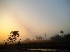 Sunrise in Guwahati