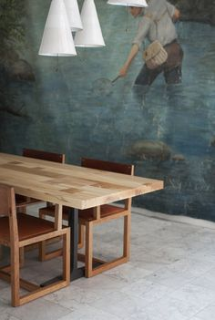 Modern Trestle Tables for Your Interior