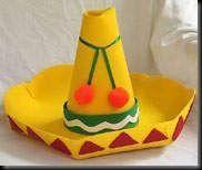 For Cinco de Mayo, make a craft foam sombrero that your kids can wear! Foam Crafts, Preschool Crafts, Crafts For Kids, Arts And Crafts, Diy Crafts, Craft Foam, Recycled Crafts, Feliz Halloween, World Thinking Day
