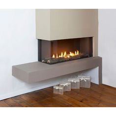 Pisa 2-Sided Balanced Flue Gas Fire