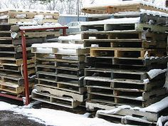 Consider Pallets for Your DIY Projects