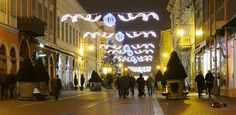 Christmas lights in Szeged, Hungary, Nikon Coolpix L310, 15.1mm, 1/1.3s, ISO200, f/4.2, panorama mode: segment 2, HDR-Art photography, 201612221638
