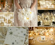 Silver and gold color scheme