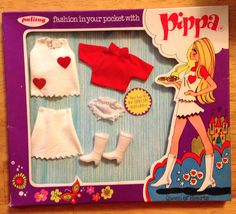 FREE US SHIP! NRFB Palitoy Pippa Rome Queen of Hearts Fits Dawn & Friends