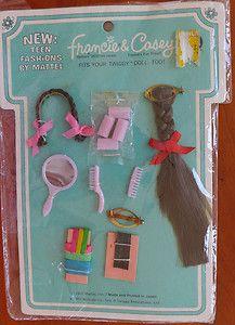 Mod Francie Casey 1967 Hair Do's New Teen Fashions by Mattel | eBay
