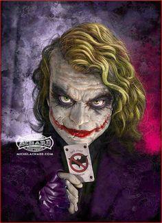 The Joker by Michael Achard *