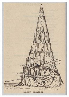 Dante - The Divine Comedy 2: Purgatory - Mount Purgatory.