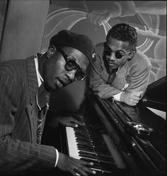 William Gottleib     Thelonious Monk and Howard McGhee, Minton's Playhouse, New York, N.Y.     1947