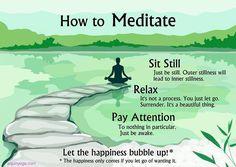 How to Meditate! #Yoga #Meditation