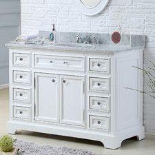 """Derby 48"""" Single Sink Bathroom Vanity Set"""