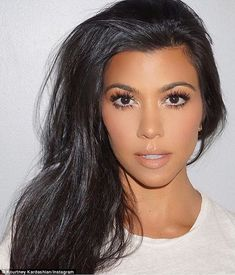 Wow factor: On Friday, Kourtney posted a close up selfie to her Instagram while…