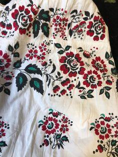 Ukrainian vintage dress sorochka vyshyvanka etno Poltava or