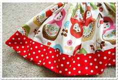 Matroyshka fabric