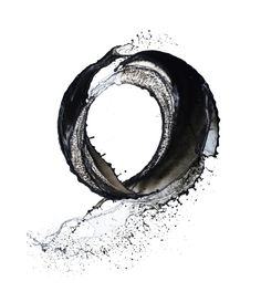 Enso, by Shinichi Maruyama -- perhaps I'd get it in a deep blue or, have it black and white but in the form of water because that's how I feel when I'm in the water.