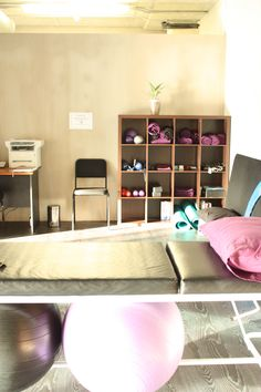Spark Physiotherapy Studio, De Waterkant, Cape Town, South Africa.  Inspiring for my own studio