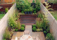 contemporary courtyard gardens | Contemporary garden design for a modern mews house Sutton 2 `