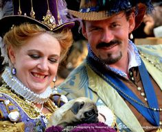 2011 - Casa - Deirdre Sargent as Queen Elizabeth & David Wine as the Earl of Leicester- NorCalRenFaire