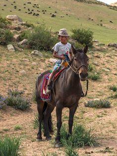 Mongolian boy, @Bayar Balgantseren