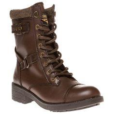 Rocket Dog Thunder Boots (1,045 MXN) ❤ liked on Polyvore featuring shoes, boots, rocket dog, brown shoes, brown boots, rocket dog shoes and rocket dog boots