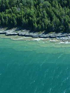 Fossil Ledges-Drummond Island, MI. This place was so beautiful!!