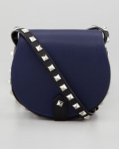 Rebecca Minkoff: Skylar Studded Mini Messenger Bag. Great transitional bag - take it from day to night!