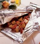 Foil Cooking Recipes 7 different packet contents Foil Pack Meals, Foil Dinners, Best Camping Meals, Camping Foods, Camping Ideas, Camping Hacks, Cooking Foil, Cooking Recipes, Campfire Food