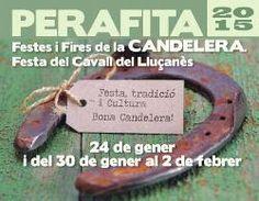 Festes i Fira de la Candelera i Festa del Cavall del Lluçanès a Perafita (gener-febrer 2015)