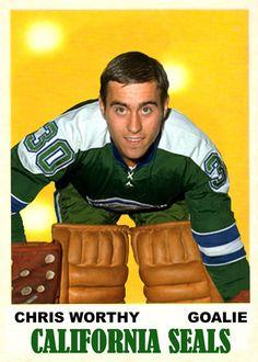 Casey Stengel, Maple Leafs Hockey, Hockey Goalie, Vintage California, Hockey Cards, Blog Page, National Hockey League, Toronto Maple Leafs, Seals