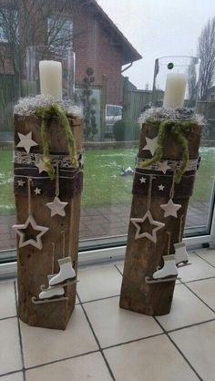 Legend Are you looking for a piece of decoration that hangs on these 12 pieces? - Weihnachtsdekoration im Garten - - - Christmas Lanterns, Noel Christmas, Outdoor Christmas, Winter Christmas, Christmas Decorations, Christmas Ornaments, Autumn Decorations, Winter Holidays, Wooden Ornaments