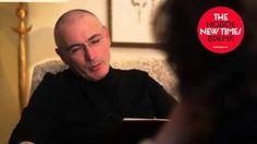 Смотреть онлайн видео Первое интервью с Михаилом Ходорковским после освобождения. Часть вторая. Тюрьма.