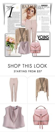 """YOINS"" by newoutfit ❤ liked on Polyvore featuring Topshop, Glamorous, Chicwish and yoins"