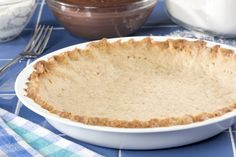 My Own Pie Crust// .1 1/1 cups all purpose flour .3 tablespoons sugar •1/2 teaspoon ground cinnamon  • 1 teaspoon salt  • 1/2 cup canola oil  • 2 tablespoons cold milk  What To Do:  1.If planning to use this as a