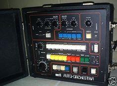 MTI Auto Orchestra Vintage Drum Machine.